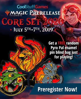 Cool Stuff Games Core Set 2020 Prerelease Event
