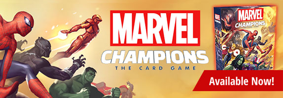 Marvel Champions Card Game available now!