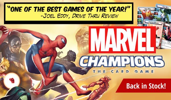 Marvel Champions back in stock