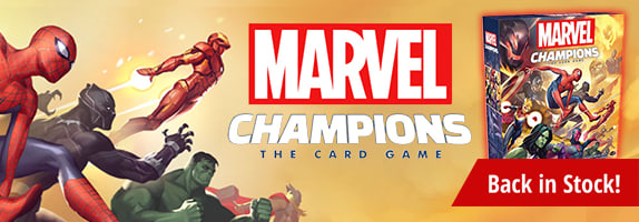 Marvel Champions back in stock