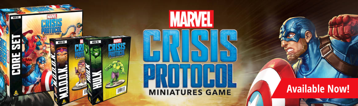 Marvel Crisis Protocol available now
