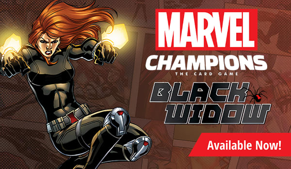 Marvel Champions Black Widow Hero Pack available now!