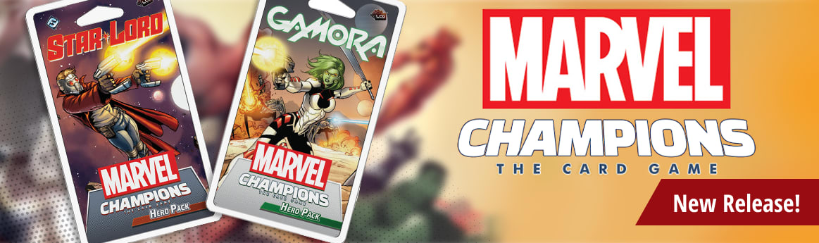 Marvel Champions Gamora and Star-Lord Hero Packs available now!