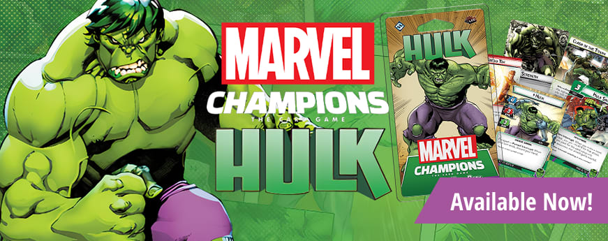 Marvel Champions Hulk available now!