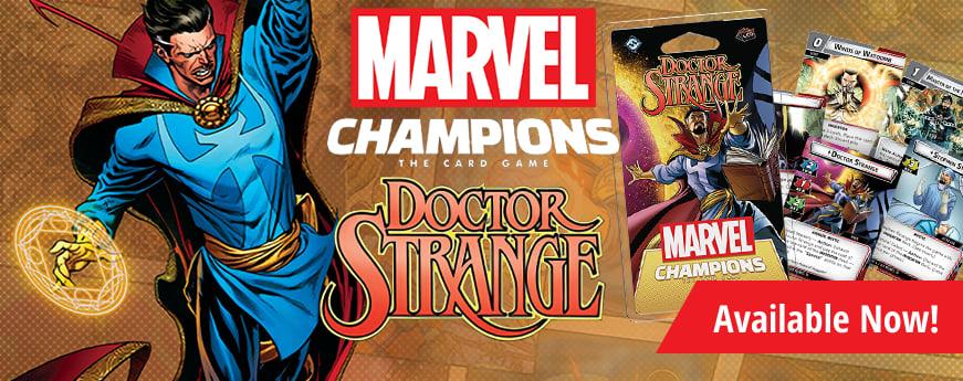 Marvel Champions: Doctor Strange Hero Pack available now!