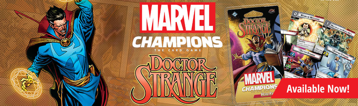 Marvel Champions: Doctor Strange Hero Pack available now!
