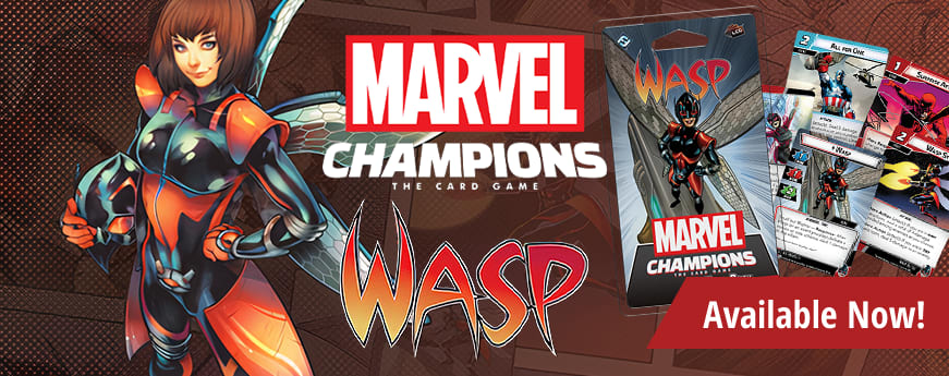 Marvel Champions Wasp Hero Pack available now!