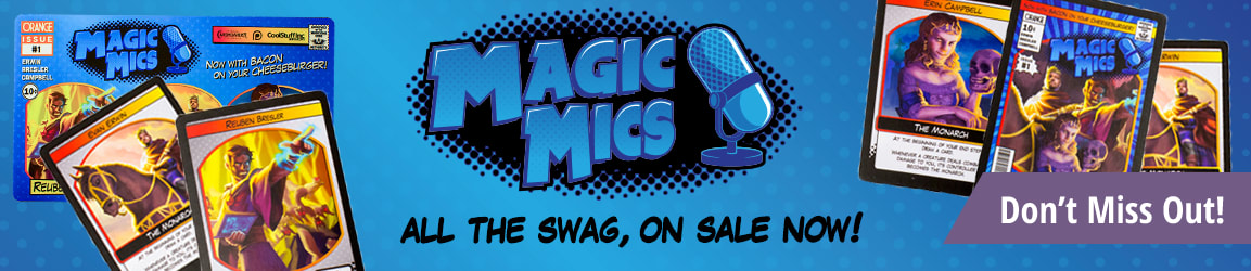 Magic Mics Merchandise available now