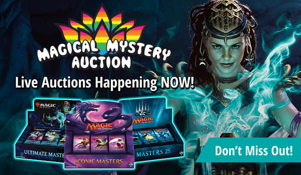 Magical Mystery Auction Happening NOW!
