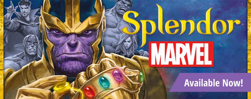 Marvel Splendor available now!