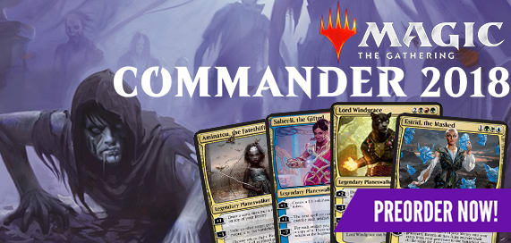 Magic: The Gathering - Commander 2018