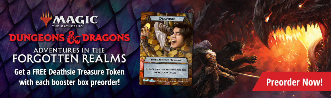 Preorder MTG Dungeons and Dragons: Adventures in the Forgotten Realms today!