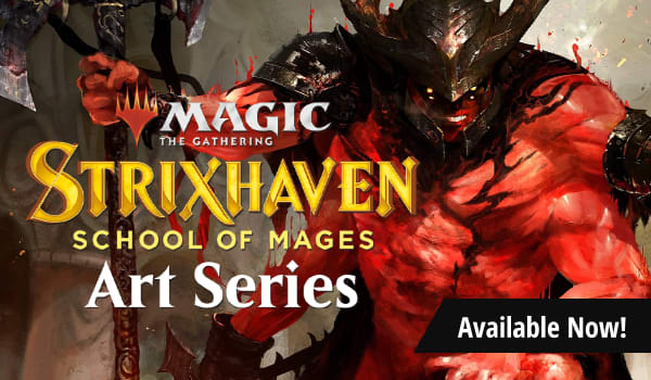 Strixhaven Art Series available now!