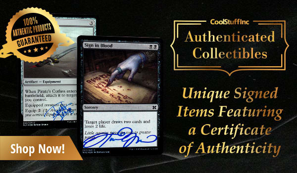 Magic: The Gathering Authenticated Collectibles