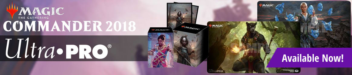 Magic: The Gathering - Commander 2018 Supplies