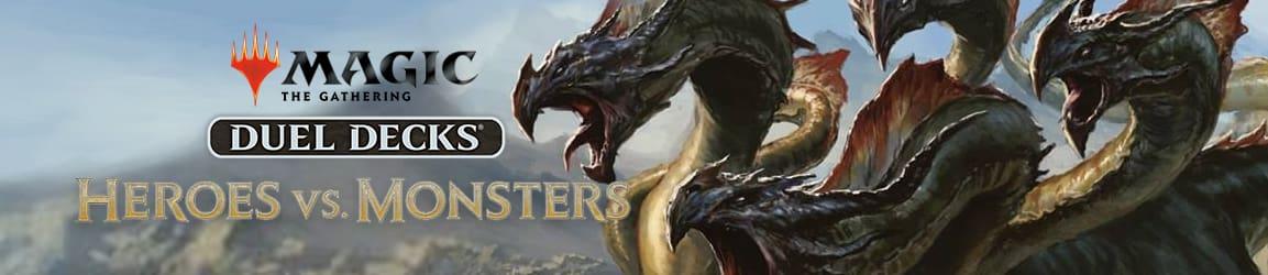 Magic: The Gathering - Duel Decks: Heroes Vs. Monsters