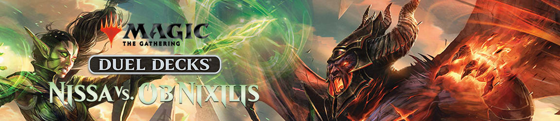 Magic: The Gathering - Duel Decks: Nissa Vs. Ob Nixilis