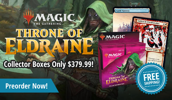 Throne of Eldraine Collector Boxes