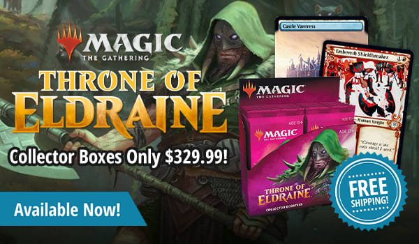 Throne of Eldraine Collector Boxes only $329.99