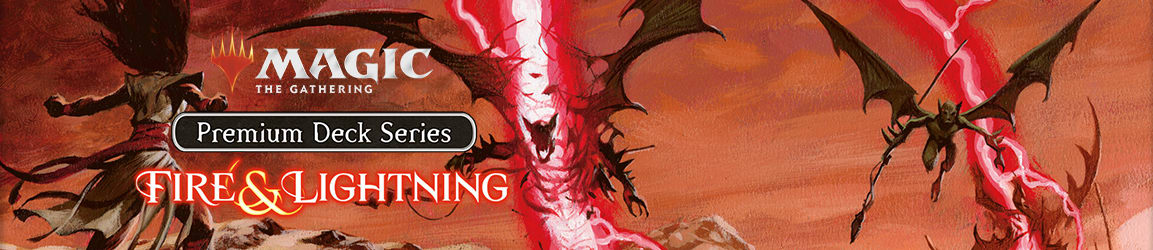Magic: The Gathering - Premium Deck Series: Fire and Lightning