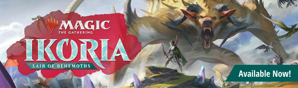 Ikoria: Lair of Behemoths available now!