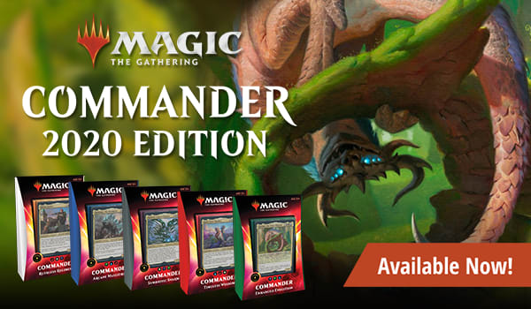 Commander 2020 singles available now!