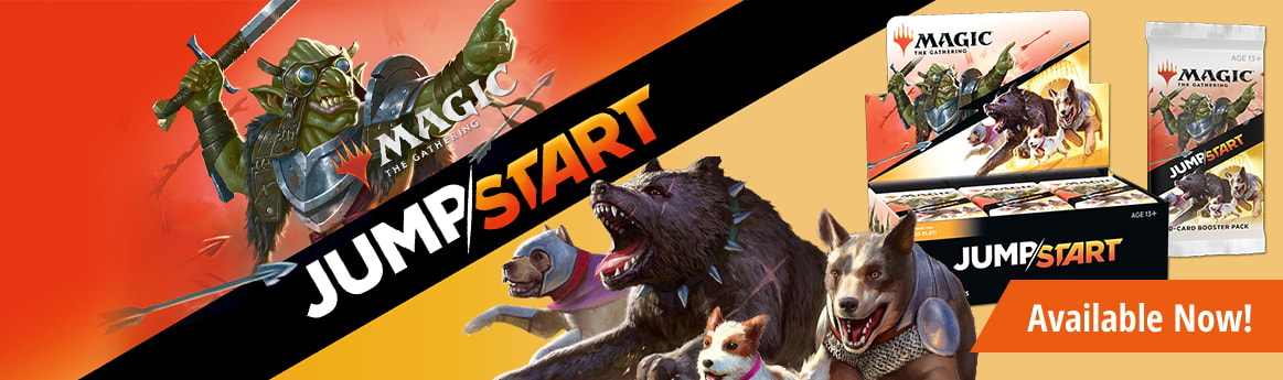 MTG Jumpstart available now!