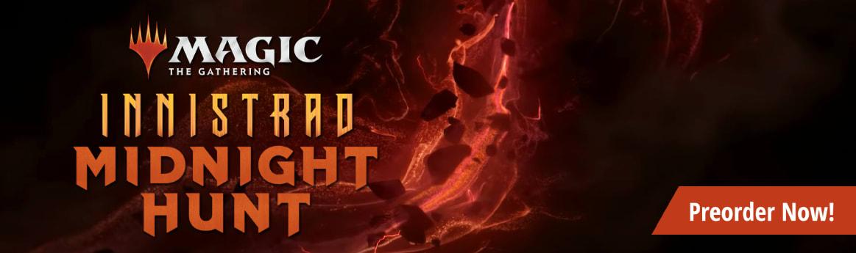 Preorder MTG Innistrad Midnight Hunt today!