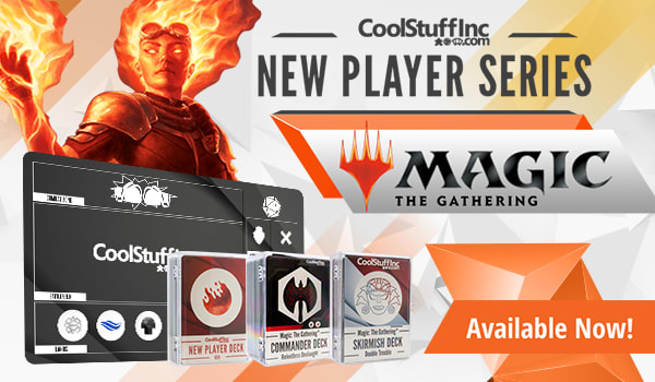 Exclusive New Player Series products available now
