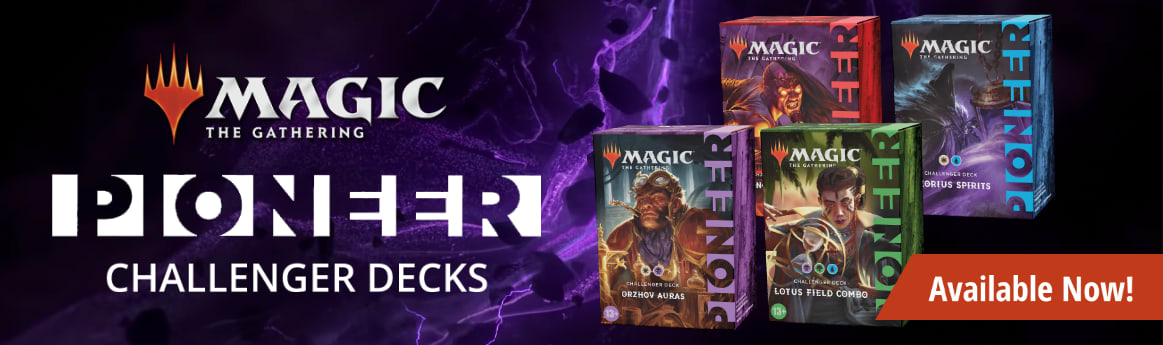 MTG Pioneer Challenger Decks 2021 available now!