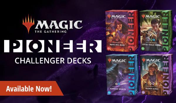 MTG Pioneer Challenger Decks 2021 availalbe now!