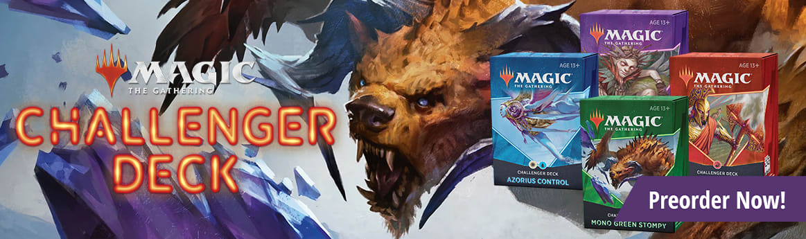 Preorder Challenger Deck 2021 today!