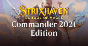 Preorder Commander 2021 Edition today!