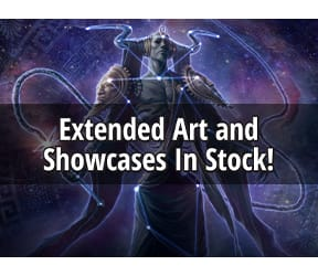 Extended art and showcase frames in stock!