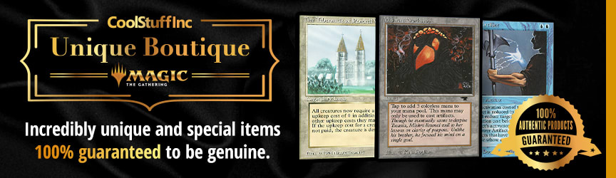 Unique Boutique - Magic: The Gathering