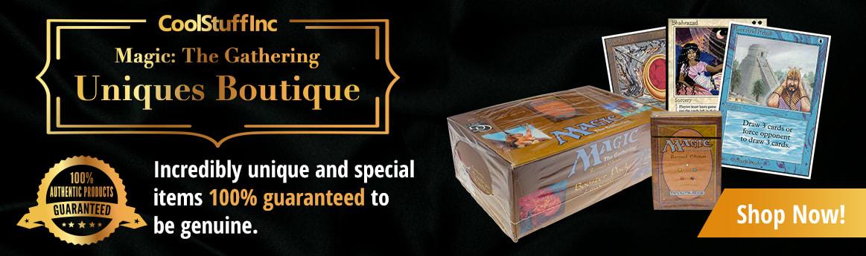 Magic: The Gathering Uniques Boutique