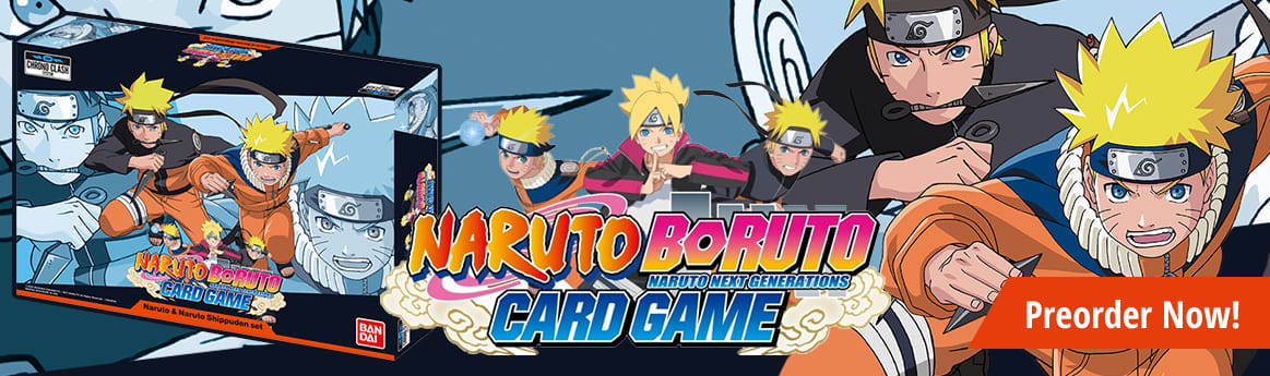 Naruto Boruto Card Game