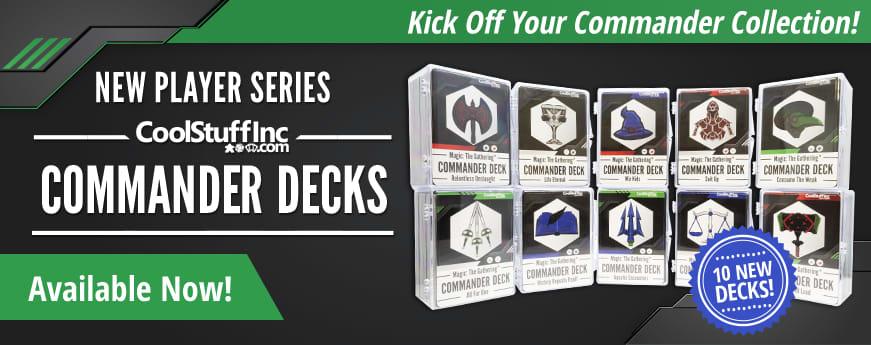 New Player Series - Commander Decks