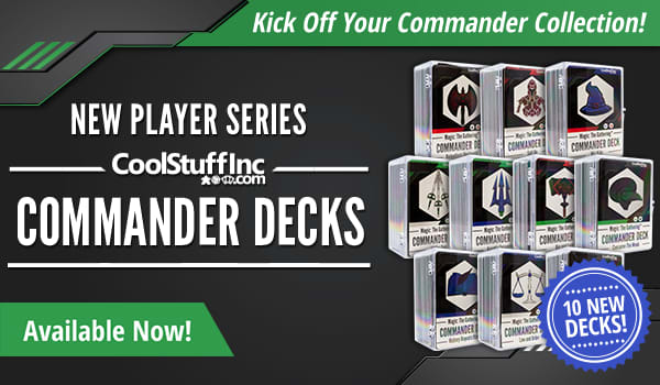 New Player Series - Commander Decks