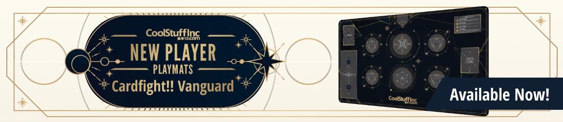 New Player Series - Cardfight Vanguard Playmat