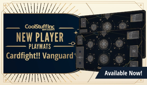 New Player Series Cardfight Vanguard Playmat available now