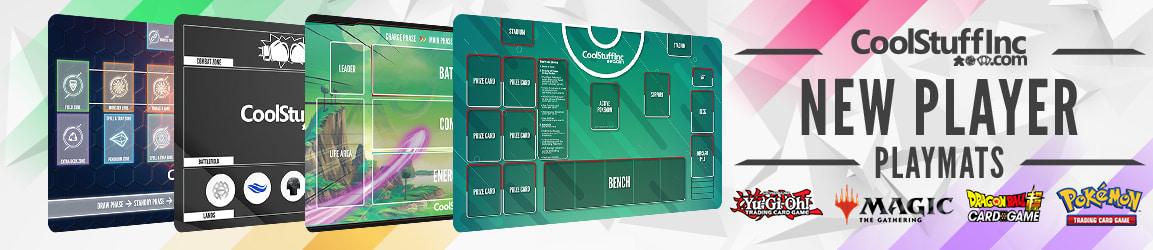 New Player Playmats