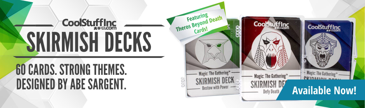 Exclusive Theros Beyond Death Skirmish Decks available now