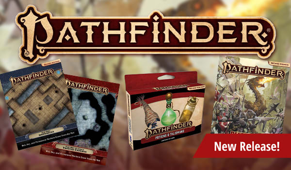 New Pathfinder releases available now!