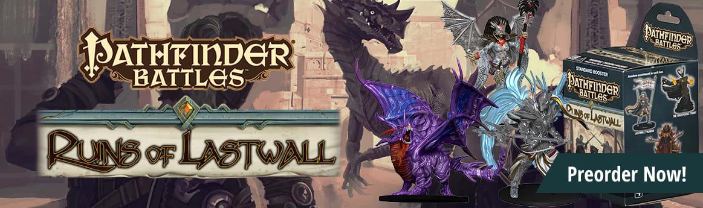 Pathfinder Battles - Ruins of Lastwall