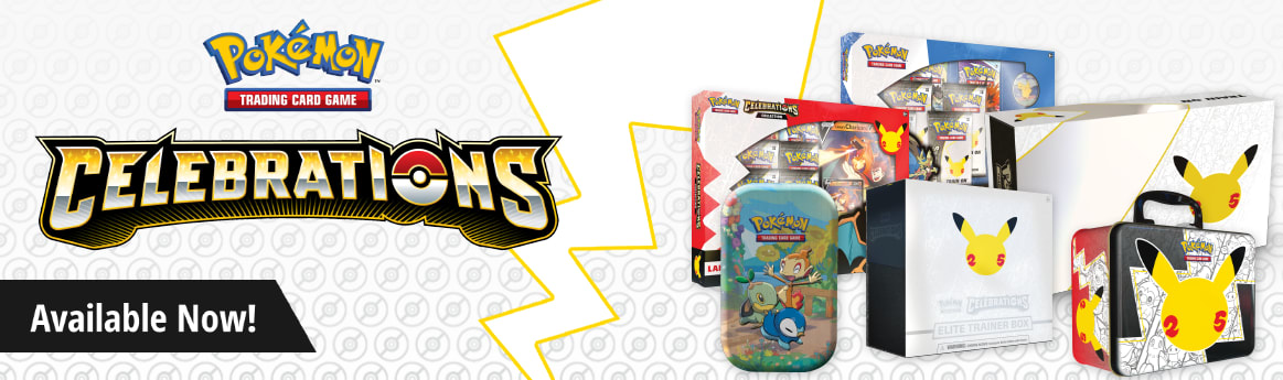 Pokemon Celebrations Collection available now!