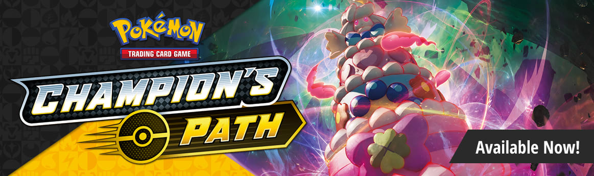 Sword and Shield Champion's Path available now!