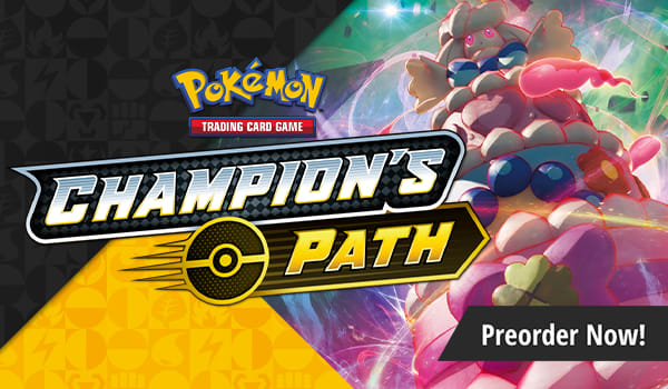 Preorder Sword and Shield Champion's Path today!