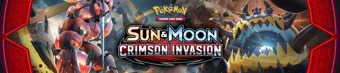 Pokemon - Sun and Moon: Crimson Invasion