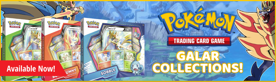 Galar Collection available now
